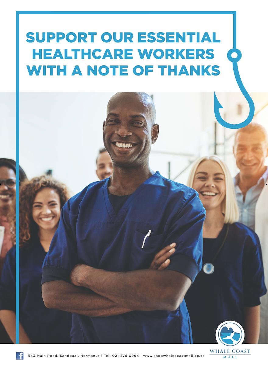 Whale Coast Mall Healthcare Appreciation Project