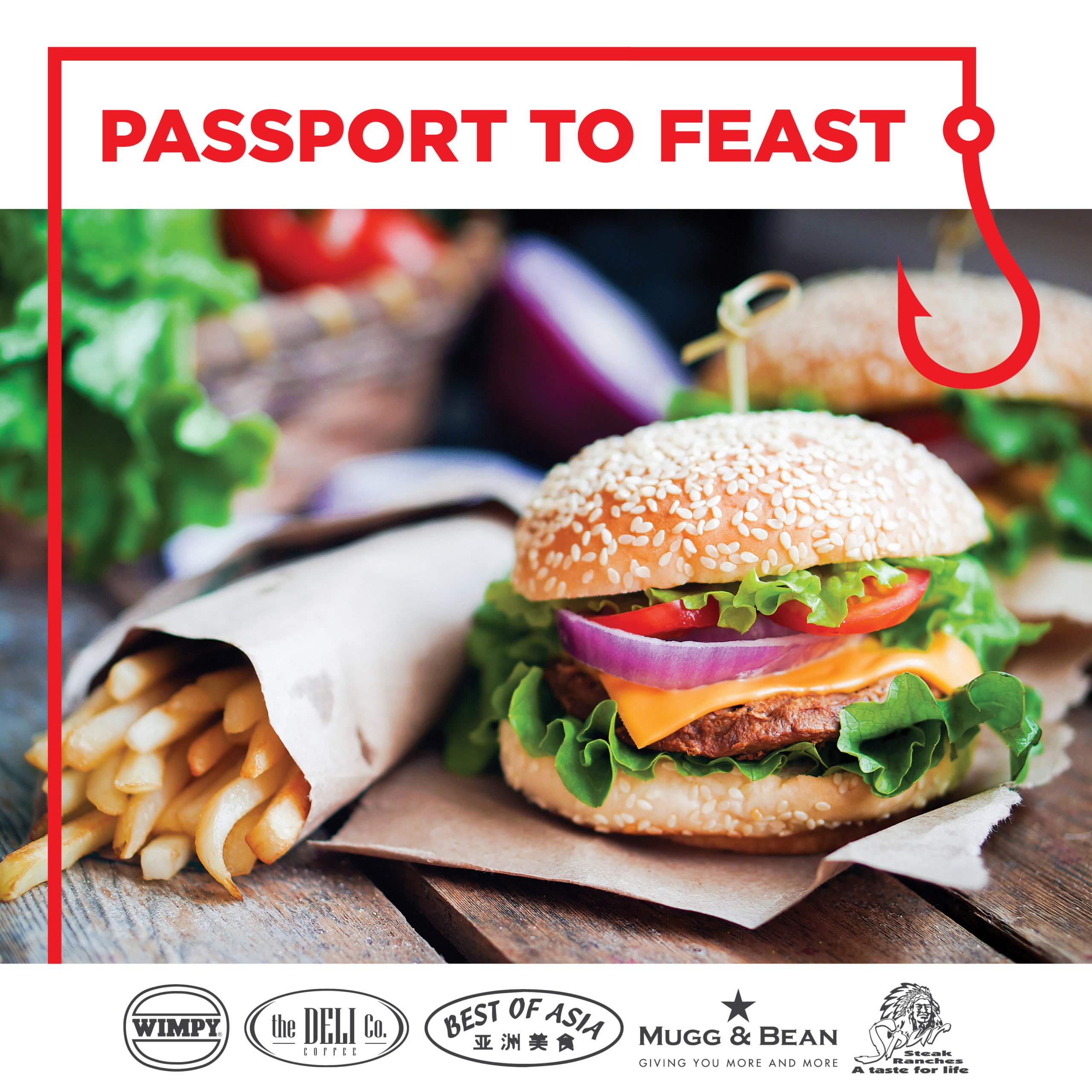 Passport to Feast at Whale Coast Mall